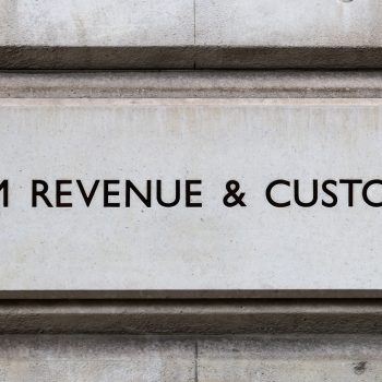 Sign for HM Revenue and Customs