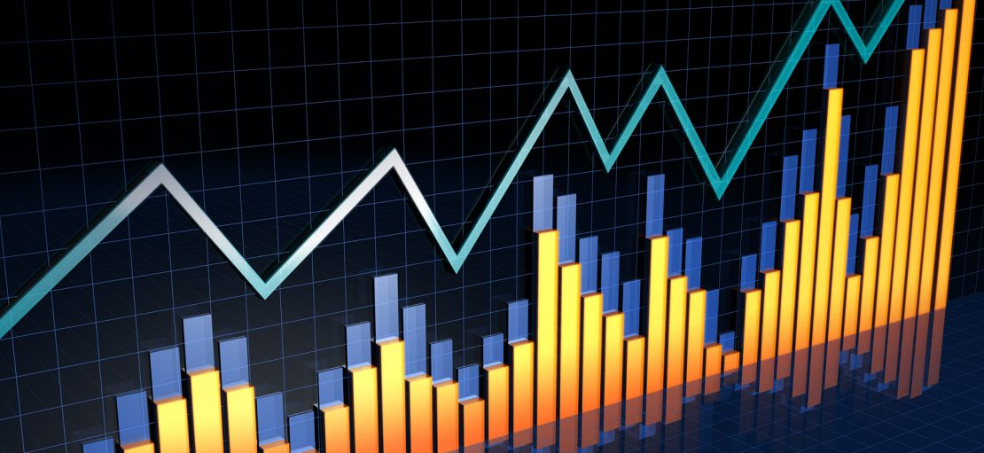 Financial Report Bussiness Growth Concept