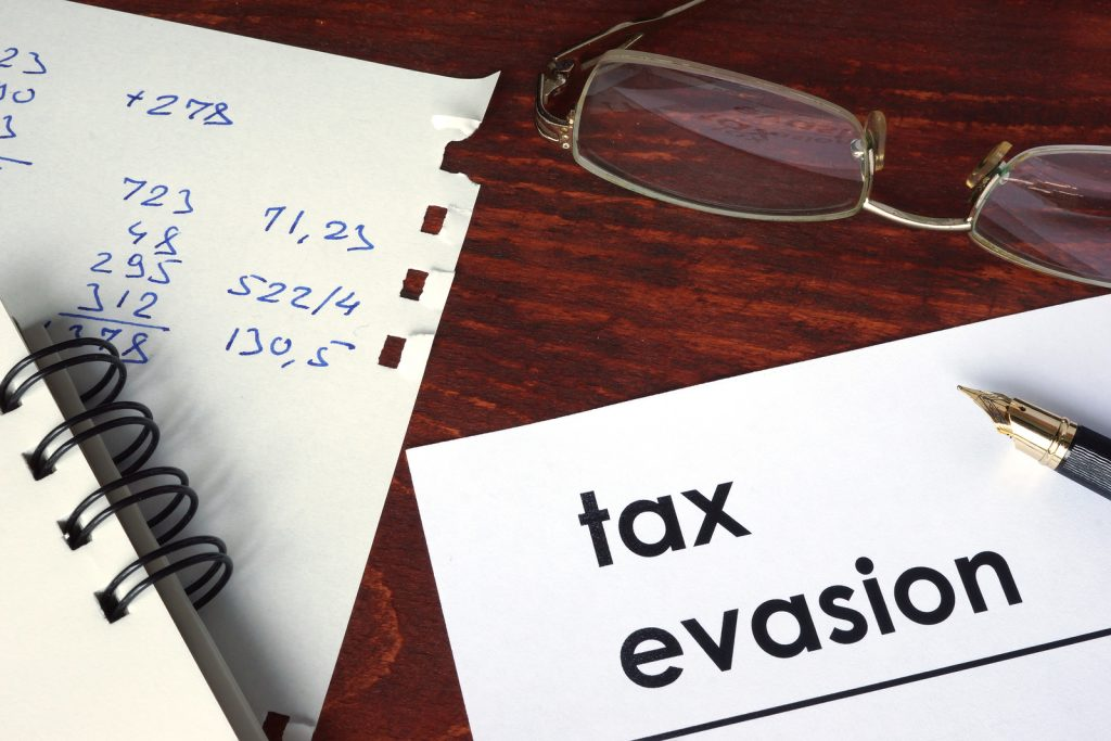 Tax Evasion Crackdown