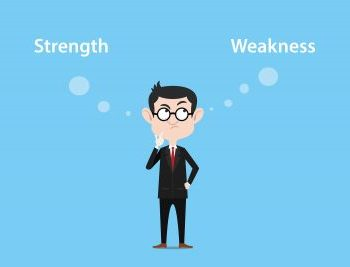 How to deal with weaknesses
