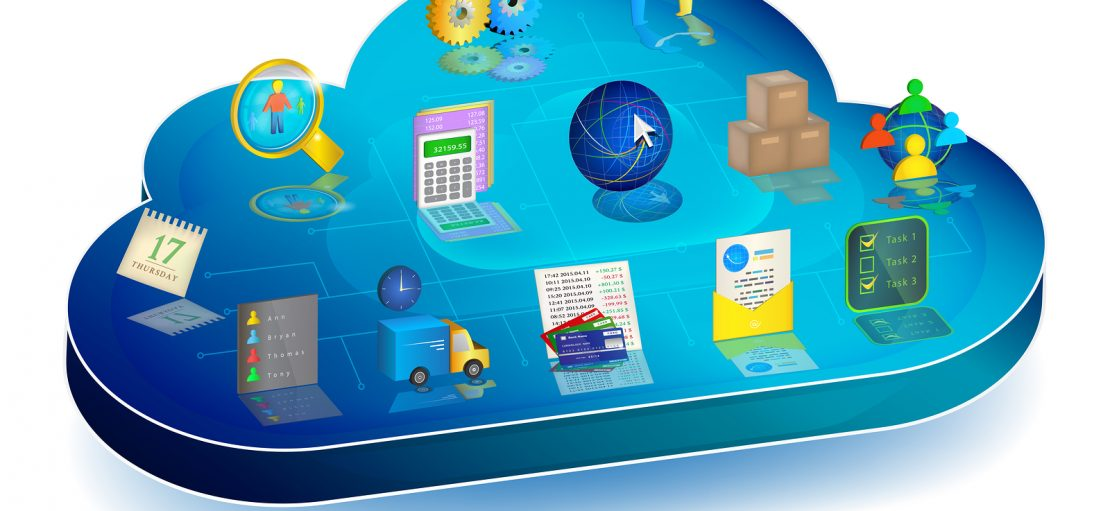 Online Business Process Managing In Cloud Application. Concept